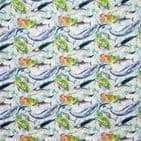 Sealife Whales and Octopus  -  Craft Cotton Fabric